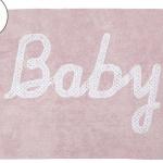 Детский стираемый ковер «Baby» розовый. Состав 100% хлопок. Производитель ТМ «Lorena Canals» , Испания