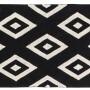 Детский стираемый ковер «Черно-белый бриллиант» черно-белый. Состав 100% хлопок. Производитель ТМ «Lorena Canals» , Испания