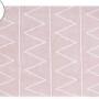 Детский стираемый ковер «Хиппи Hippy» розовый. Состав 100% хлопок. Производитель ТМ «Lorena Canals» , Испания