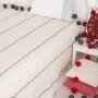 МОРЯЧОК (экрю). Покрывало для подростков 100% хлопок. Производство Luxberry (Люксберри), Португалия