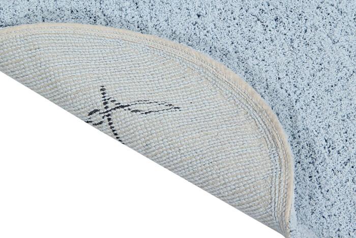 Детский стираемый ковер «Облако с подушкой» голубой. Состав: 100% хлопок.  Производитель: ТМ «Lorena Canals» , Испания