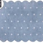 Детский стираемый ковер «Печенье Biscuit» голуюой. Состав 100% хлопок. Производитель ТМ «Lorena Canals» , Испания