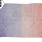 Детский стираемый ковер «Градиент Ombre» коралловый розово-лавандовый. Состав 100% хлопок. Производитель ТМ «Lorena Canals» , Испания
