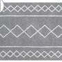 Детский стираемый ковер «Оазис» серый. Состав 100% хлопок. Производитель ТМ «Lorena Canals» , Испания