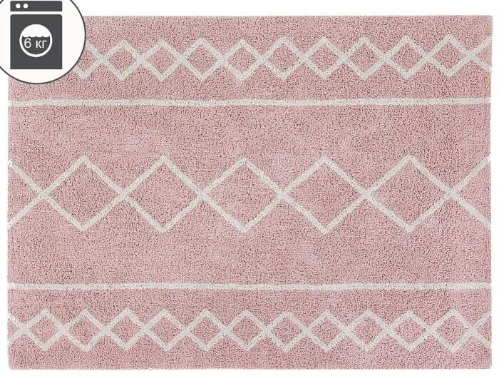Детский стираемый ковер «Оазис» винтажный  нюдовый. Состав 100% хлопок.  Производитель ТМ «Lorena Canals» , Испания