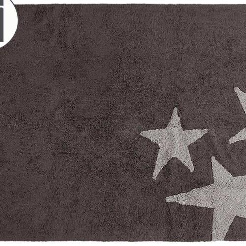 Детский стираемый ковер «Три звезды» C-TE-GG. Состав 100% хлопок. Производитель ТМ «Lorena Canals» , Испания