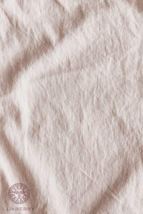 Постельное белье софт сатин «SOFT SATEEN» (пудровый). 100% хлопок. «Bovi» («Бови»), Португалия-2