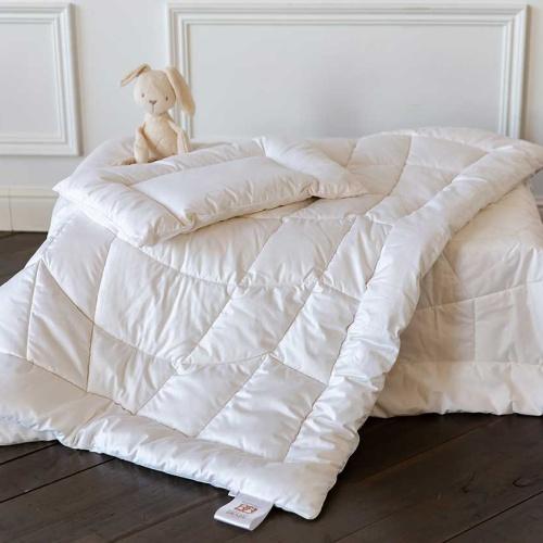 Baby Silk Coсoоn детское теплое шелковое одеяло. 70% натуральный шелк высшего класса Mulberry,30% хлопок. German Grass (Герман Грасс), Австрия
