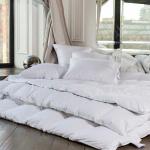 WHITE FAMILIE DOWN теплое кассетное пуховое одеяло. 100 серый гусиный пух. ТМ German Grass (Герман Грасс), Австрия