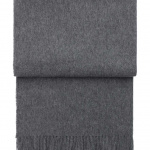 7005 Classic Grey. Плед шерсть беби альпака. ТМ Elvang, Дания