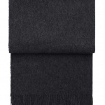 7006 Classic Dark grey. Плед шерсть беби альпака. ТМ Elvang, Дания