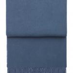 7026 Classic Steel blue. Плед шерсть беби альпака. ТМ Elvang, Дания
