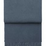 7030 Classic Midnight blue. Плед шерсть беби альпака. ТМ Elvang, Дания