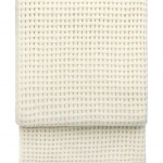 7400 BASKET off white. Плед шерсть альпака, овечья шерсть. ТМ Elvang, Дания