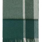 7062 MANHATTAN evergreenbotanic green. Плед шерсть50% альпака, 40% овечья шерсть. ТМ Elvang, Дания