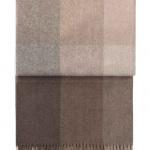 7108 INCA stones throw Brown. Плед шерсть50% альпака, 40% овечья шерсть. ТМ Elvang, Дания