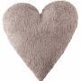 Подушка детская декоративная Heart льняная. 100 хлопок. Lorena Canals, Испания