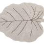 Ковер лист монстеры Natural Детский стираемый ковер. Состав 100% хлопок. Производитель ТМ «Lorena Canals», Испания