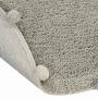 Ковер-с-помпонами-оливковый Детский стираемый ковер. Состав 100% хлопок. Производитель ТМ «Lorena Canals», Испания-2