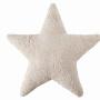 Star бежевая Подушка детская декоративная. 100 хлопок. Lorena Canals, Испания