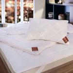 EXQUISIT всесезонное стеганое одеяло 100 овечья шерсть мериноса. ТМ Brinkhaus (БринкХаус), Германия