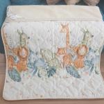 «Меринос ЛоконХлопок Зоопарк» 100×140см. Детское теплое шерстяное тканое одеяло. 100% открытая шерсть мериноса. Ткань 100% хлопок-сатин. Производитель ТМ «Magicwool», Россия