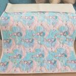 «Совята ЛоконХлопок Зоопарк» 100×140см. Детское теплое шерстяное тканое одеяло. 100% открытая шерсть мериноса. Ткань 100% хлопок-перкаль. Производитель ТМ «Magicwool», Россия