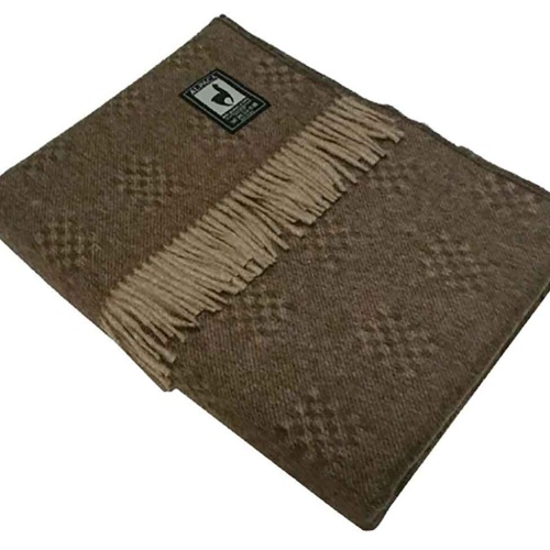 PP-42 Шерстяной плед INCALPACA (55% шерсть альпака, 45% шерсть мериноса).Перу