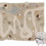 Путь природы. Детский игровой стираемый ковер. Состав 100% хлопок. Производитель Lorena Canals, Испания