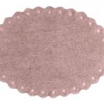 Сосновая шишка розовый. Детский стираемый ковер. Состав 100% хлопок. Производитель Lorena Canals, Испания