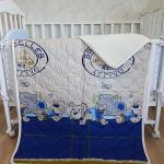 «Baby Меринос ЛоконХлопок» 100×140см. Детское теплое шерстяное тканое одеяло. 100% открытая шерсть мериноса. Ткань 100% хлопок-перкаль. Производитель ТМ «Magicwool», Россия