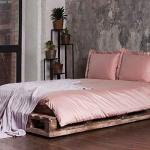 Постельное белье сатин «DAILY BEDDING» (розовая пудра) 100% хлопок. «Luxberry» («Люксберри»), Португалия