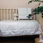 Baby Organic Linen Grass. Детское всесезонное хлопковое стеганое одеяло. Состав 50 хлопковое волокно, 50 льняное волокно. German Grass (Герман Грасс). Aвстрия