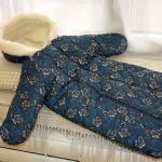 Детский шерстяной конверт «КотыЭскимо». Состав 100% шерсть мериноса. ТМ «MagiсWool», Россия