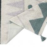 MINI Ацтекский. Детский стираемый ковер. Состав 100% хлопок. Производитель Lorena Canals, Испания