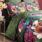 ROZENA. Постельное белье Сатин, Хлопок. Комплект постельного белья сатин -100 хлопок. Постельное белье Karna (Карна), Турция