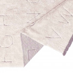 RugCycled ABC. Детский стираемый ковер. Состав 100% хлопок. Производитель Lorena Canals, Испания