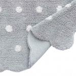 MINI Печенька жемчужно-белый. Детский стираемый ковер. Состав 100% хлопок. Производитель Lorena Canals, Испания