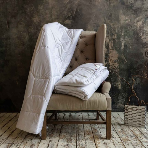 «Merino Wool Grass». Легкое стеганое одеяло. 100% шерсть мериноса.ТМ «German Grass» («Герман Грасс»), Австрия