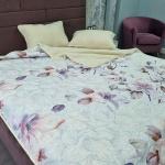 Одеяло Меринос ЛоконХлопок Магнолия. Шерстяное тканое одеяло. 100% открытая шерсть мериноса. ТМ Magicwool (Монарх), Россия