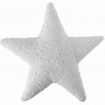 Подушка детская интерьерная Звезда Star белая. 100 хлопок. Lorena Canals, Испания