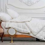 «Trois Couronnes Clima Night Ingeo» 155×200см. Всесезонное стеганое одеяло. 30% Аутласт-Вискоза, 70% Кукуруза. ТМ «Trois Couronnes», Швейцария