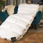 Trois Couronnes Imperial. Всесезонное пуховое кассетное одеяло. 100% белый мазурийский гусиный пух. Trois Couronnes, Швейцария