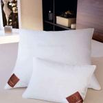 «DUCK FEATHER AND DOWN» подушка пуховая мягкая 85% белое европейское утиное перо15% белый европейский утиный пух. ТМ «Brinkhaus», Германия