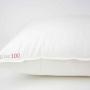 «De Luxe 100 Kissen» подушка пуховая мягкая. 100% белый гусиный пух. ТМ «Kauffmann» («Кауфман»), Германия