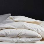 «Trois Couronnes Regina Light» Ультра-Легкое пуховое стеганое одеяло. 90% белый пух Европейской уточки, 10% перо. ТМ «Trois Couronnes», Швейцария