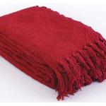 «Бордо т-красное». Покрывало 100% хлопок. ТМ «Коронатекс», Индия