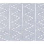 Хиппи Hippy (нежно-голубой). Детский стираемый ковер. Состав 100% хлопок. Производитель Lorena Canals, Испания