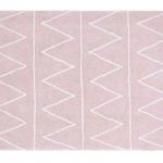 Хиппи Hippy (розовый). Детский стираемый ковер. Состав 100% хлопок. Производитель Lorena Canals, Испания
