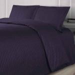 LINE Фиолетовый. Постельное белье сатин 100 хлопок Karna (Карна) Турция